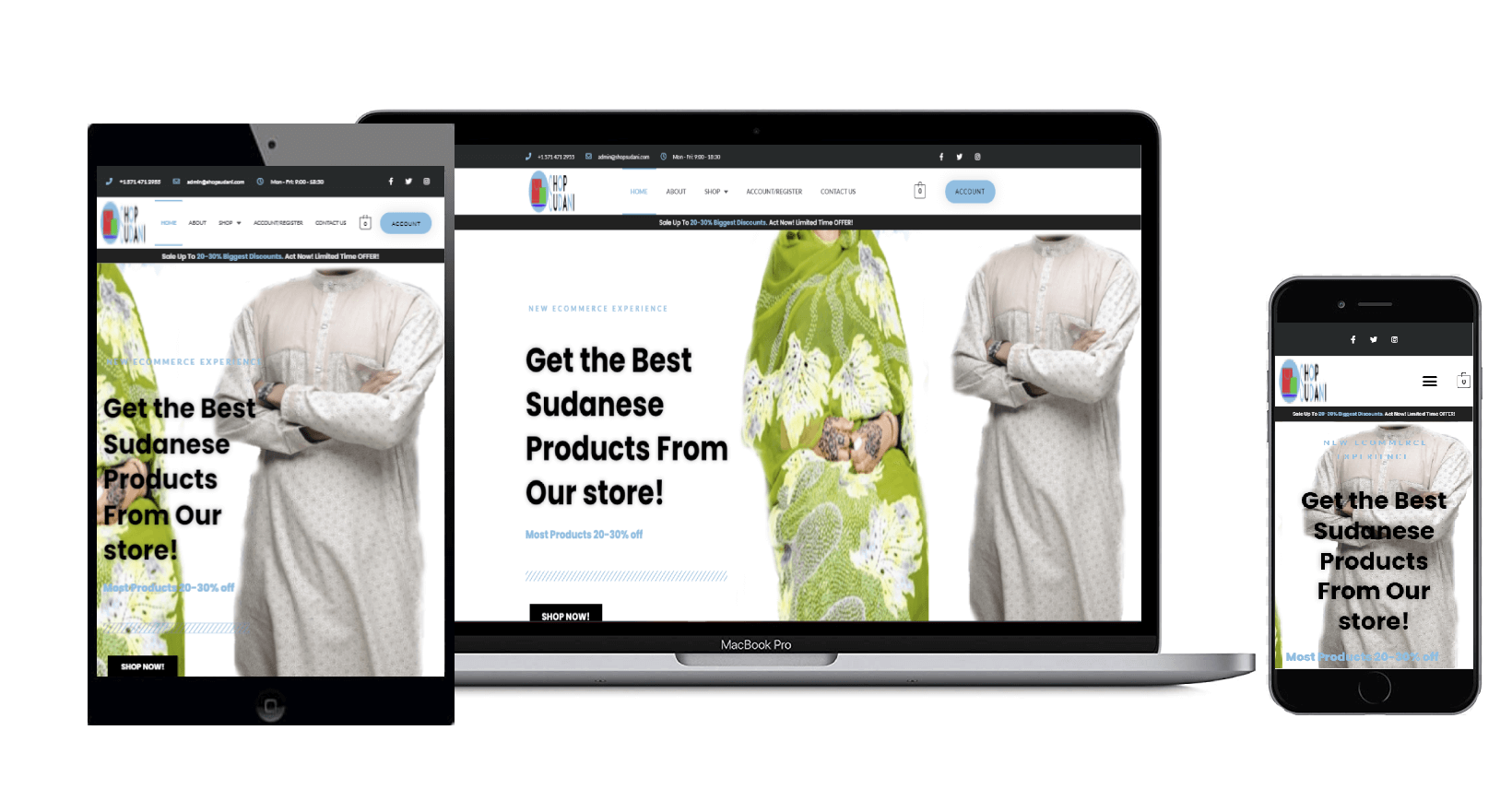 Shop-Sudani   ecommerce-website